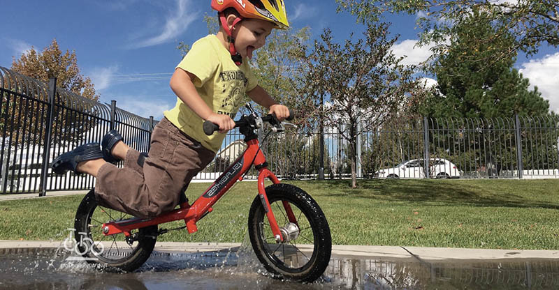 barn springcykel